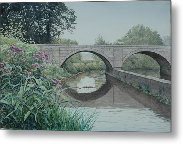 Camillus Canal Metal Print by Stephen Bluto