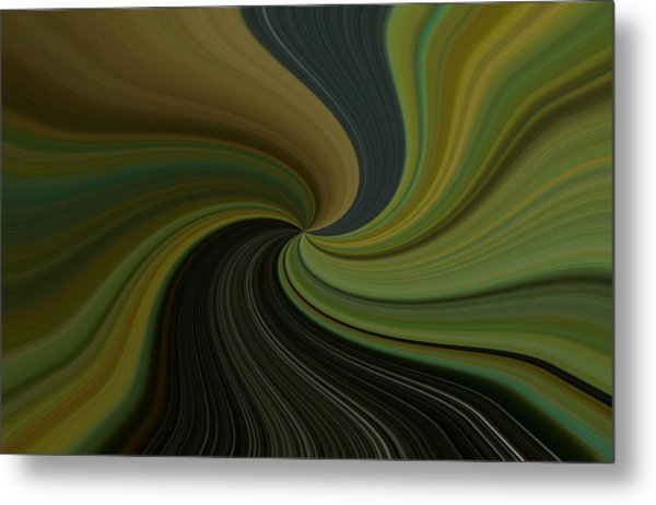 Camo Twist Metal Print by Joshua Sunday