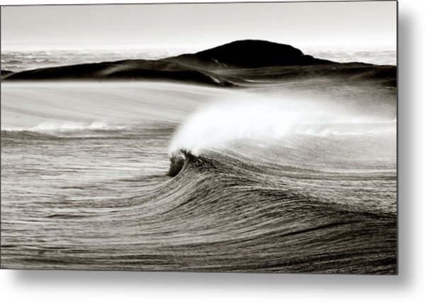 Camps Bay Wave Metal Print by Tim Booth