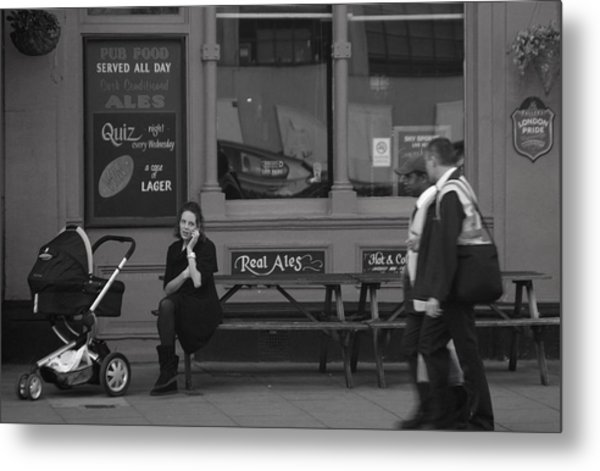 Can I Help You Metal Print by Jez C Self