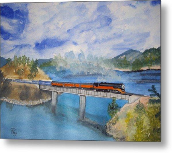 Canada Railway Metal Print