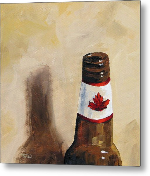 Canadian Beer Metal Print