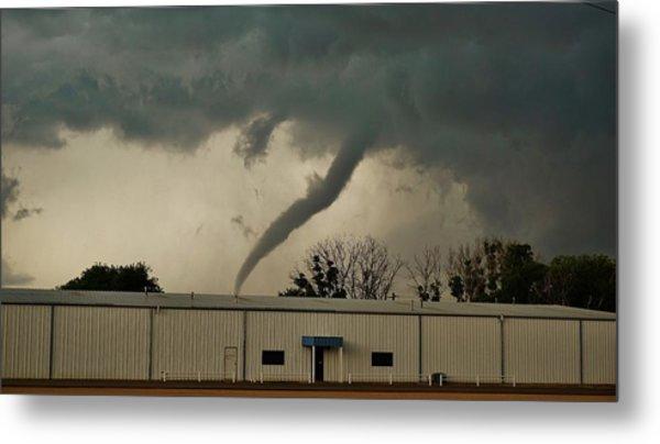 Canadian Tx Tornado Metal Print