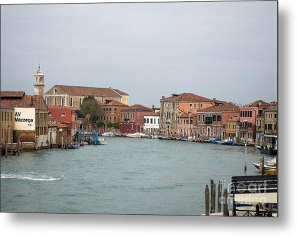 Canal Of Murano Metal Print