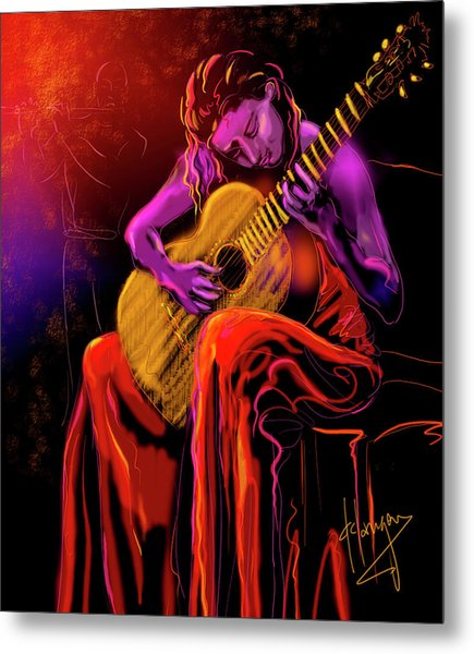 Cancion Del Corazon Metal Print