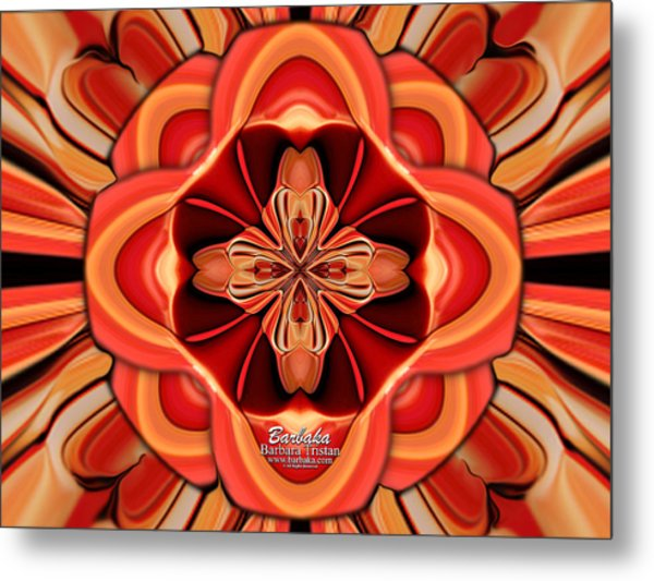 Candle Inspired #1173-4 Metal Print