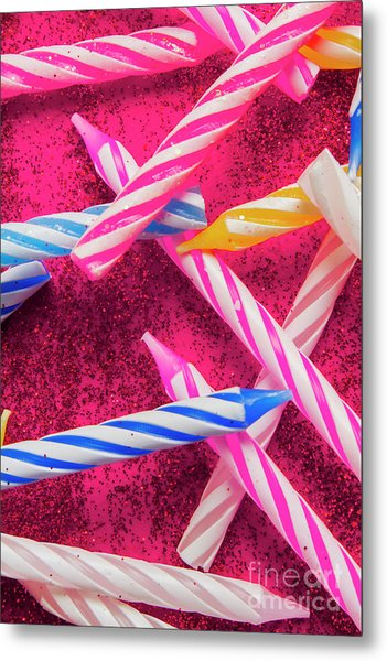 Candle Party Metal Print