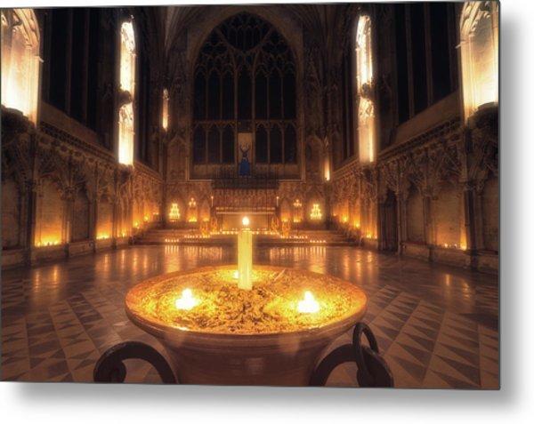 Candlemas - Lady Chapel Metal Print