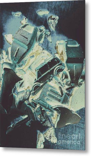 Candy Car Crush Metal Print