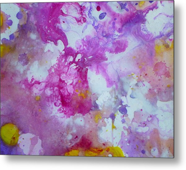 Candy Clouds Metal Print