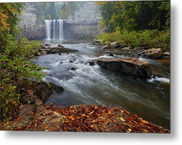 Cane Creek Falls Metal Print