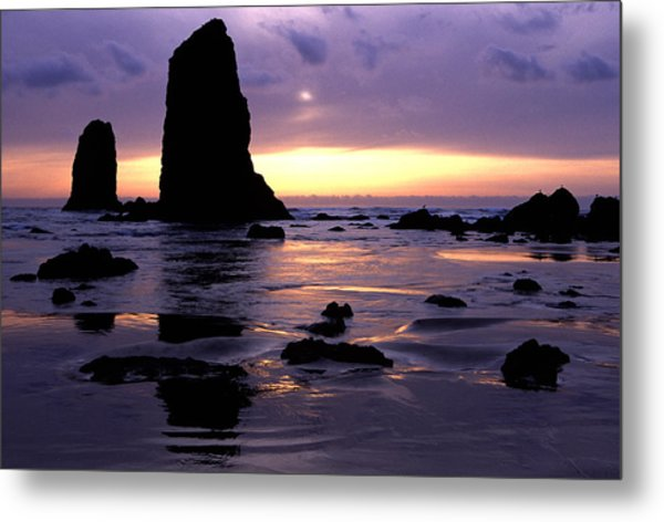 Cannon Beach Metal Print by Eric Foltz