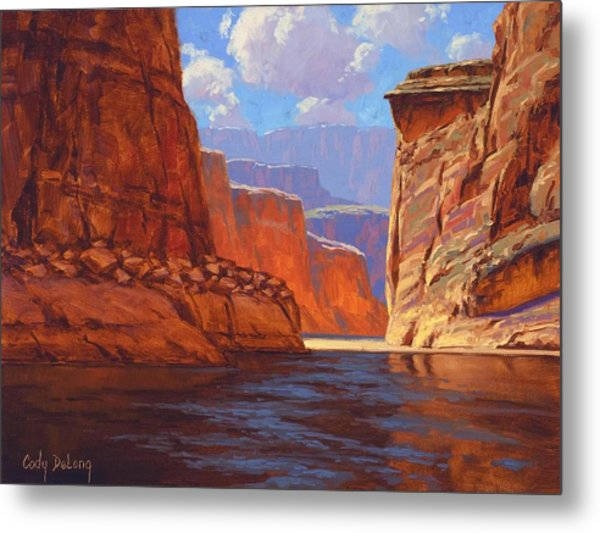 Canyon Colors Metal Print