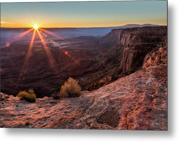 Canyon Country Sunrise Metal Print