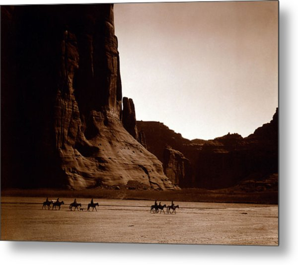 Canyon De Chelly 2c Navajo Metal Print