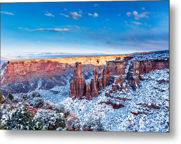 Canyon Of Colors Metal Print