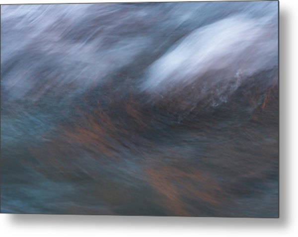 Metal Print featuring the photograph Canyon Reflections by Deborah Hughes