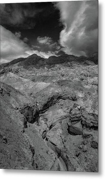 Canyon Relief Metal Print