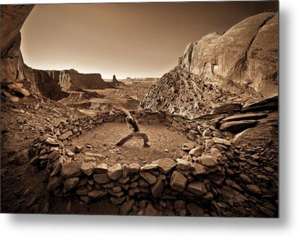 Canyonlands Kiva Metal Print