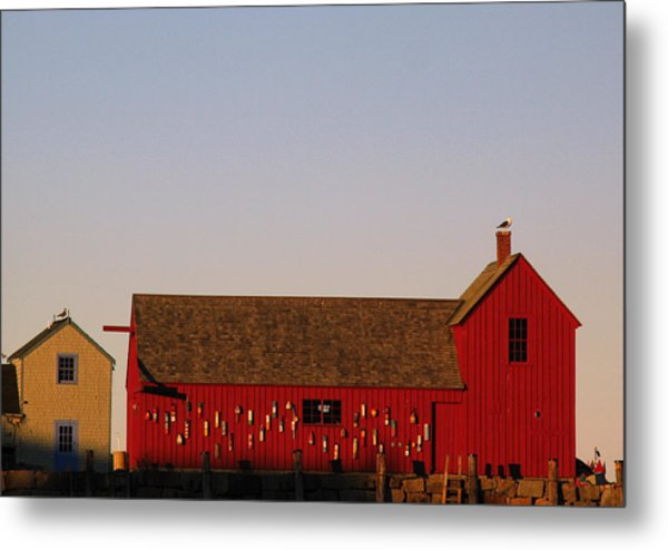 Cape Ann Motif Number 1 Metal Print by Juergen Roth