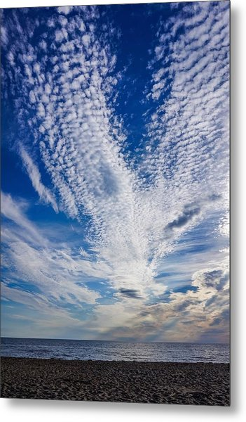 Cape Clouds Metal Print