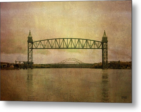 Cape Cod Canal And Bridges Metal Print