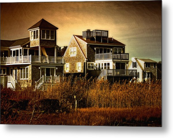 Cape Cod Gold Metal Print by Gina Cormier