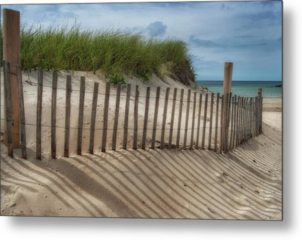 Metal Print featuring the photograph Cape Cod Sand Dunes by Expressive Landscapes Fine Art Photography by Thom