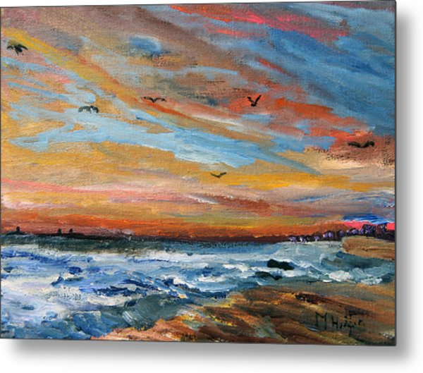 Cape Cod Sunrise Metal Print