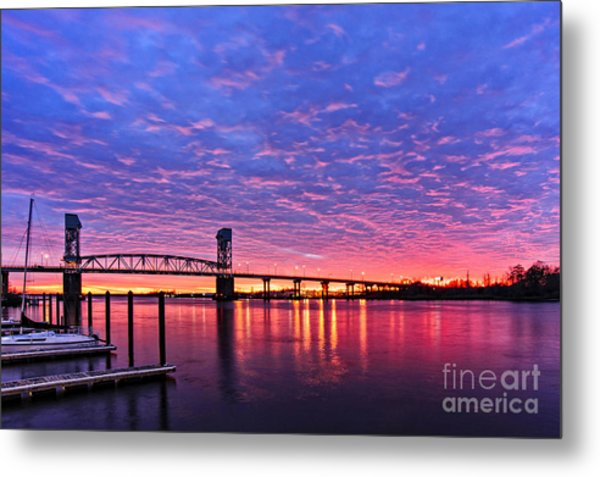 Cape Fear Bridge1 Metal Print