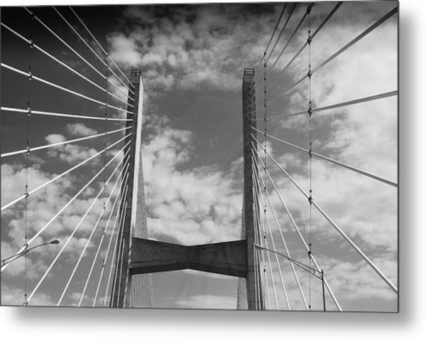 Cape Girardeau Bridge Metal Print