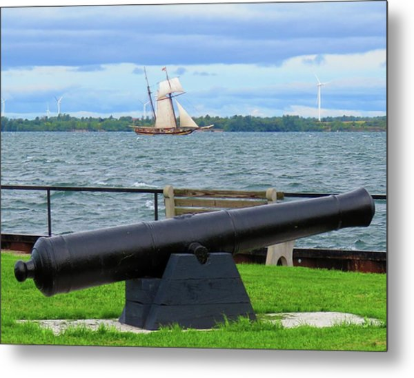 Cape Vincent Gun Metal Print