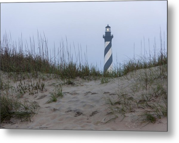 Cape Hatteras Over The Dunes Metal Print
