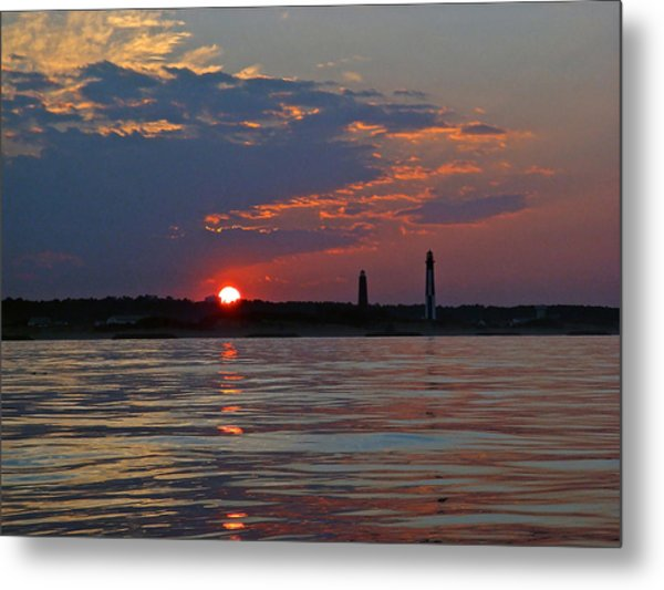 Cape Henry Sunset Metal Print