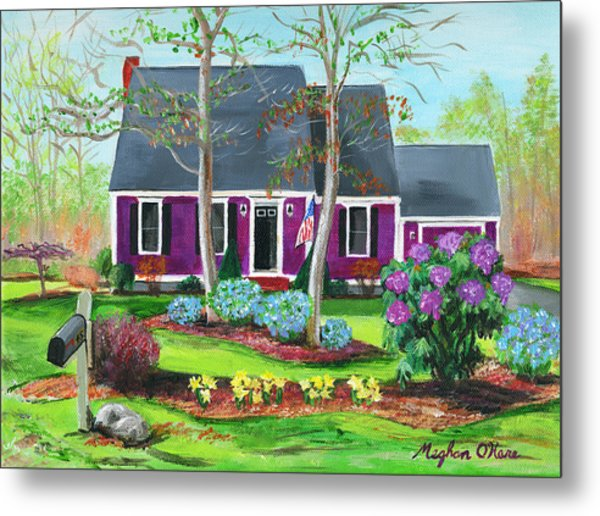 Cape House Metal Print