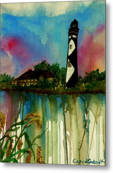 Cape Lookout Metal Print