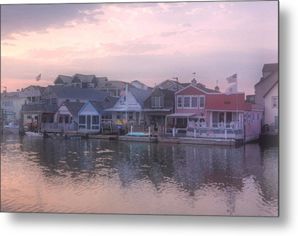 Cape May Harbor Metal Print