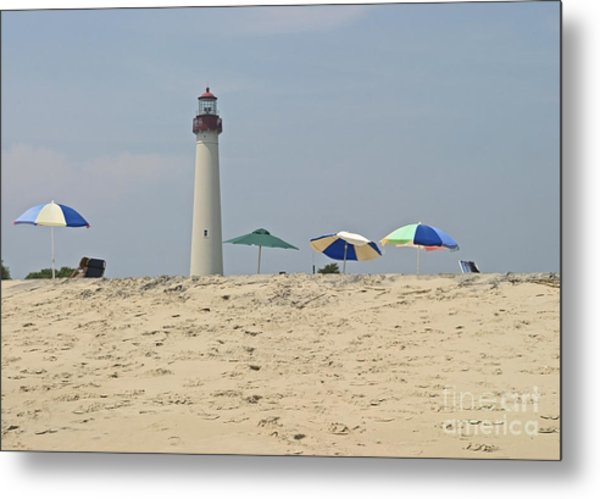 Cape May Lighthouse View Metal Print by Andrew Kazmierski