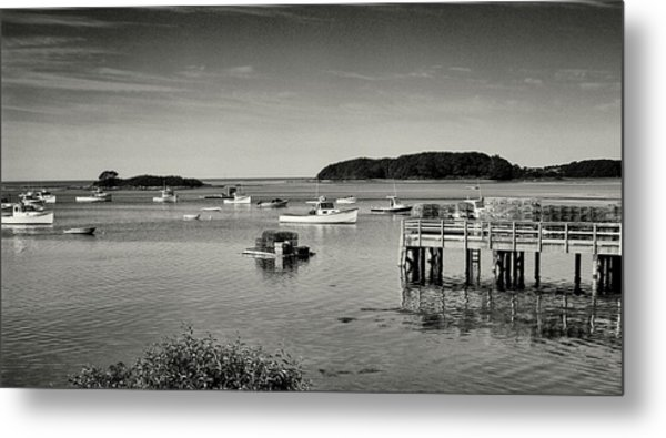 Cape Porpoise Harbor Metal Print