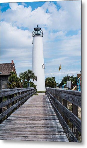 Cape St. George Lighthouse Metal Print