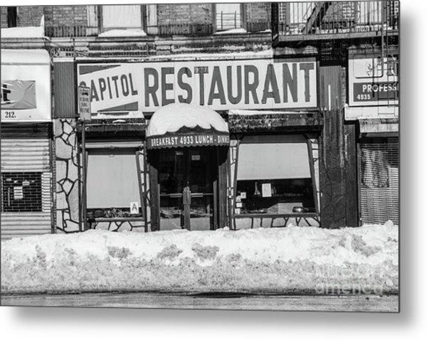 Capitol Restaurant Metal Print