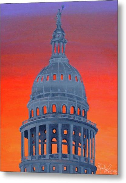 Capitol Warmth Metal Print