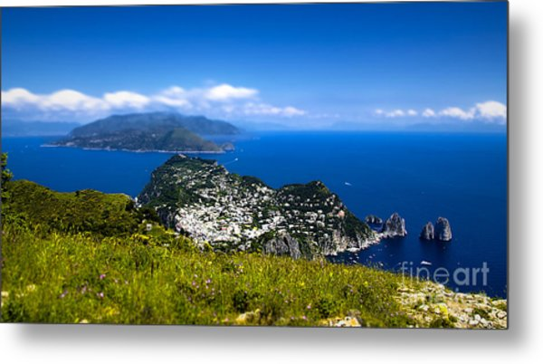 Capri Metal Print by Alessandro Giorgi Art Photography