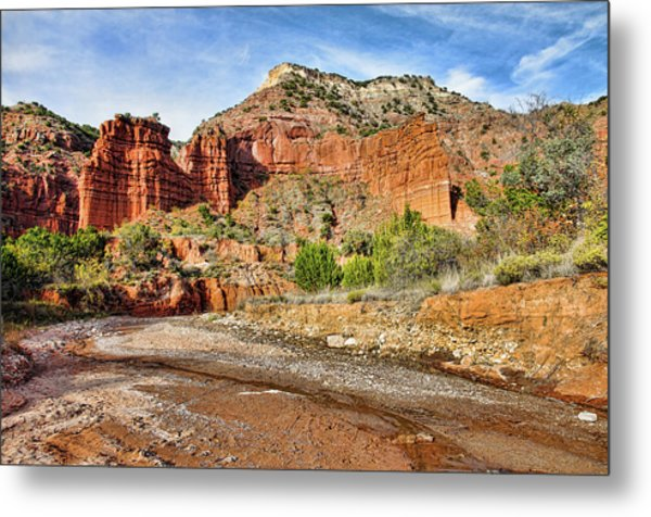 Caprock Canyon Metal Print
