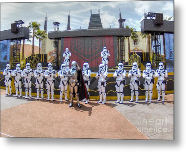 Captain Phasma And The First Order Metal Print