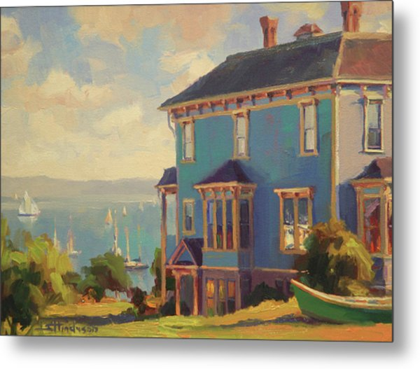 Captain's House Metal Print