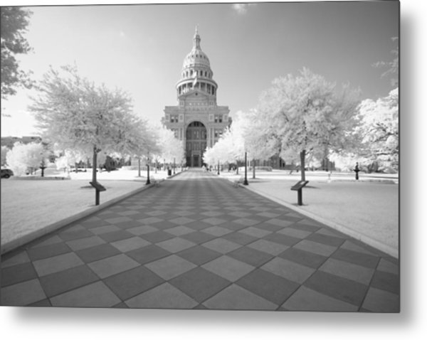 Captiol Ir Metal Print by John Gusky