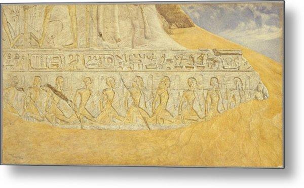 Captives Of Ramses Metal Print