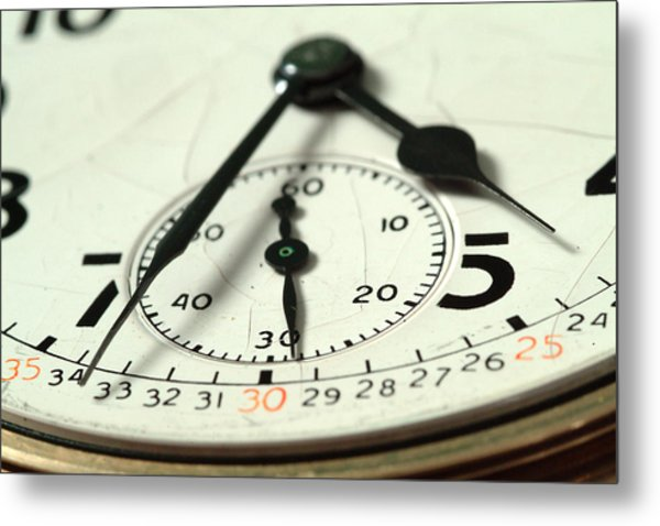 Captured Time Metal Print