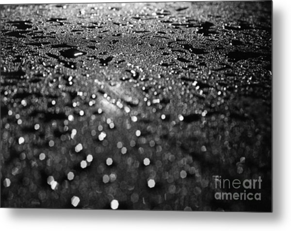 Car Window Metal Print by Tassos Pasalis